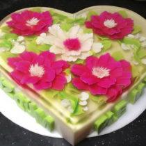 Corazon Mosaico Floral