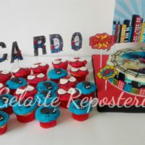 Cupcakes Hombre Araña