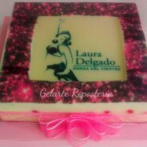 Torta de gelatina con imagen