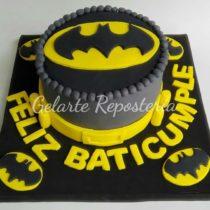 tortas en pastillaje Batman