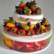 gelatina-y-torta-frutal